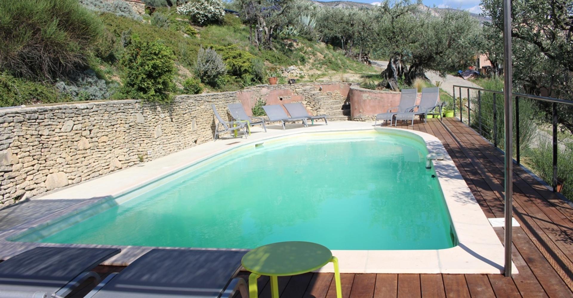 Priv zwembad villa ventoux for Zwembad prive