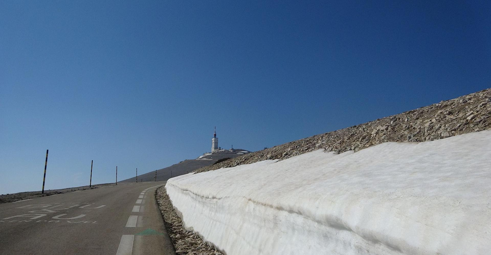 Route Mont Ventoux